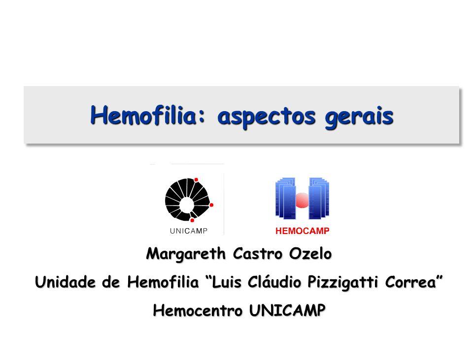 Hemofilia: aspectos gerais