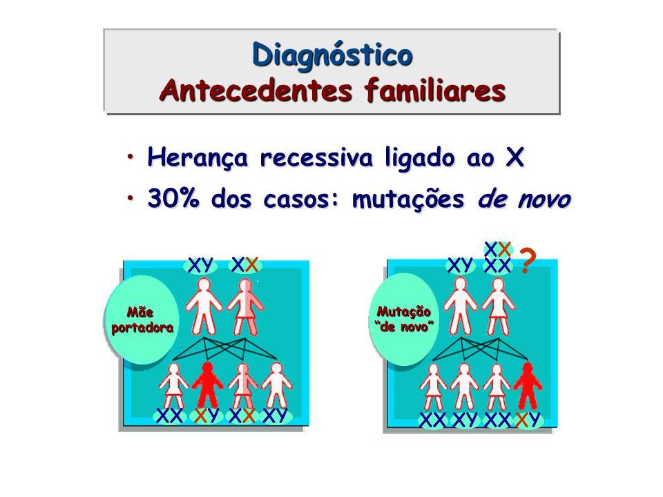 Diagnóstico Antecedentes familiares