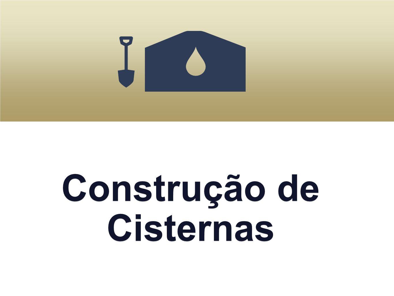 Construção de Cisternas