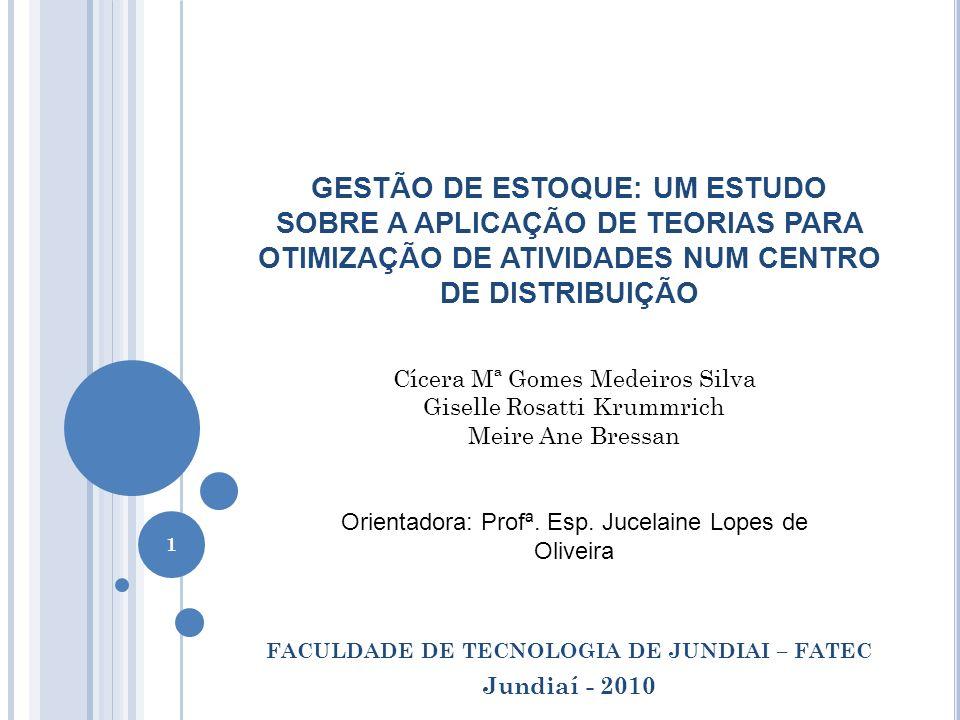 FACULDADE DE TECNOLOGIA DE JUNDIAI – FATEC Jundiaí - 2010