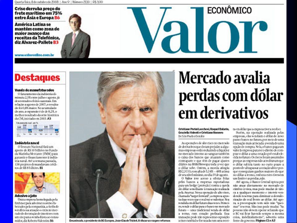 Os derivativos de câmbio