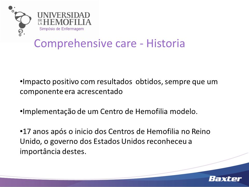Comprehensive care - Historia