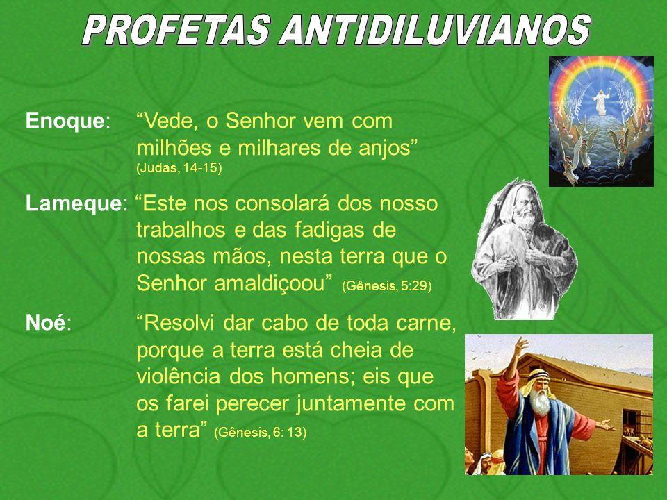 PROFETAS ANTIDILUVIANOS