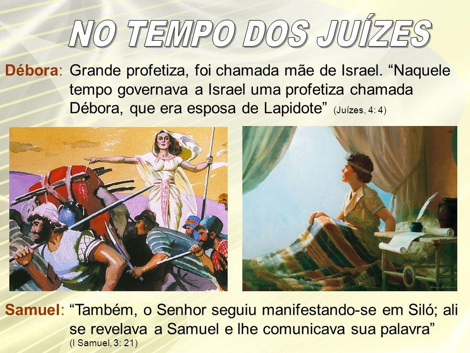 NO TEMPO DOS JUÍZES