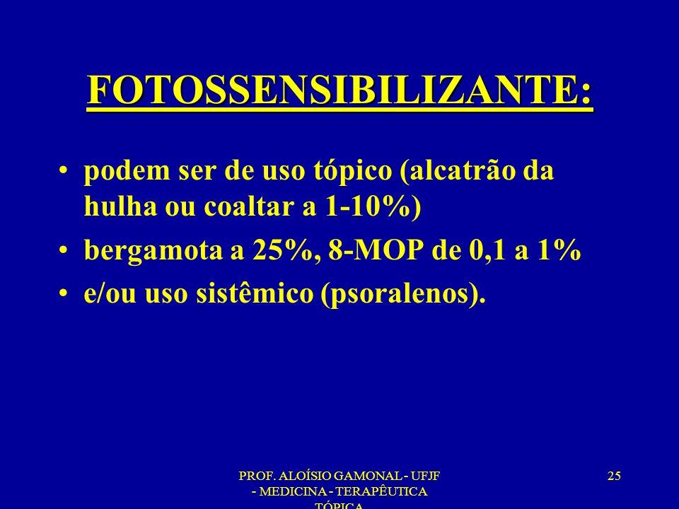 FOTOSSENSIBILIZANTE: