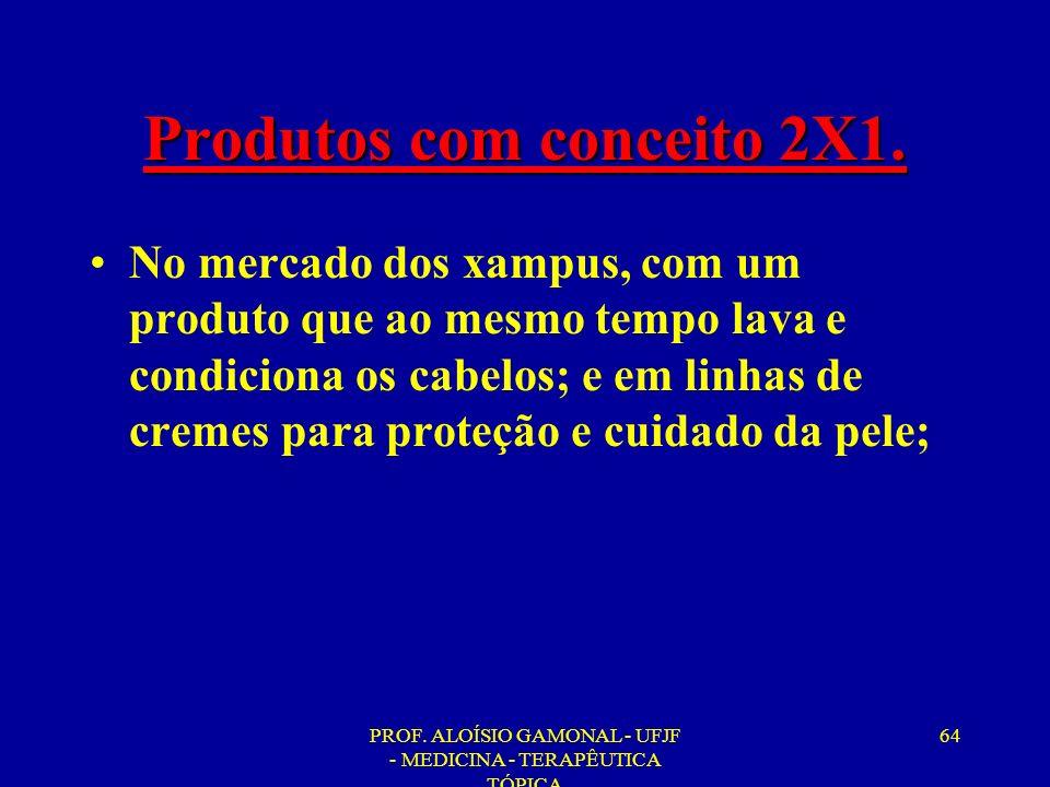 Produtos com conceito 2X1.