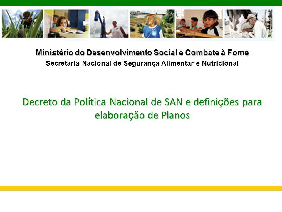 Ministério do Desenvolvimento Social e Combate à Fome