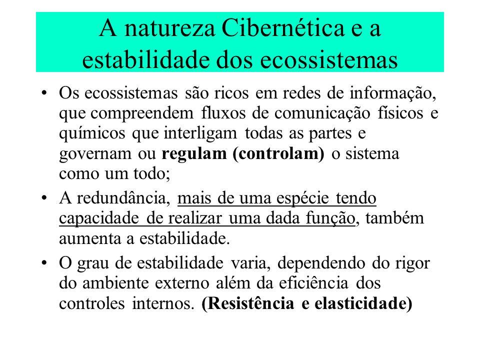 A natureza Cibernética e a estabilidade dos ecossistemas