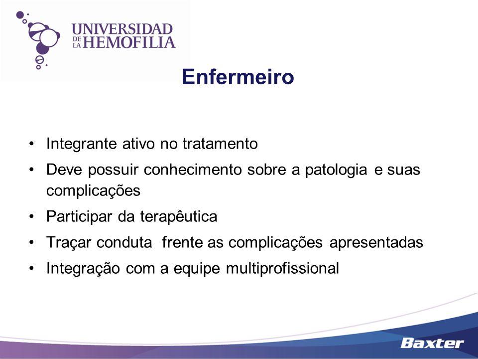 Enfermeiro Integrante ativo no tratamento