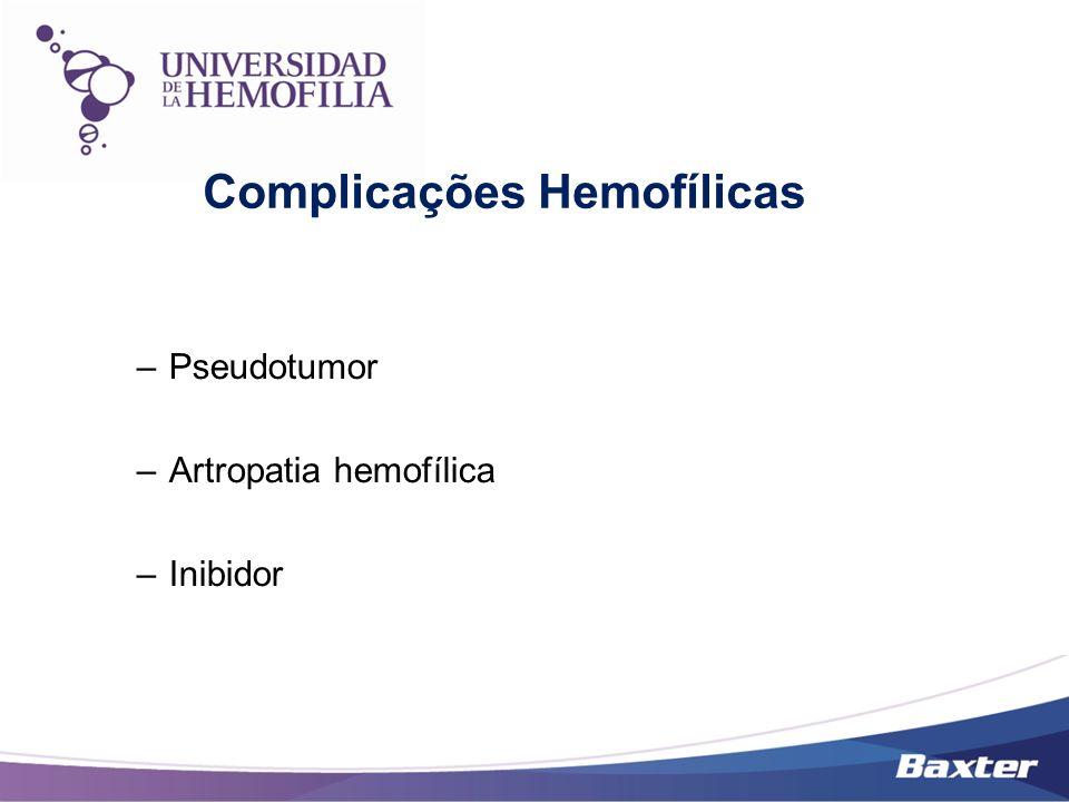 Complicações Hemofílicas