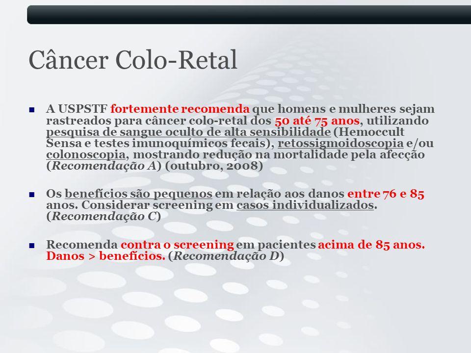 Câncer Colo-Retal