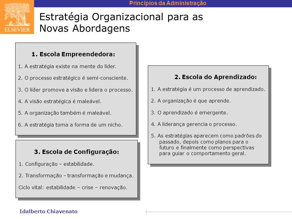 Estratégia Organizacional para as Novas Abordagens
