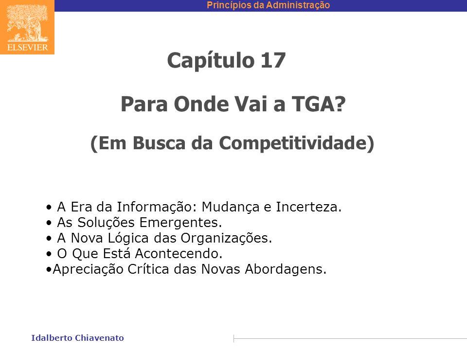 Capítulo 17 Para Onde Vai a TGA (Em Busca da Competitividade)