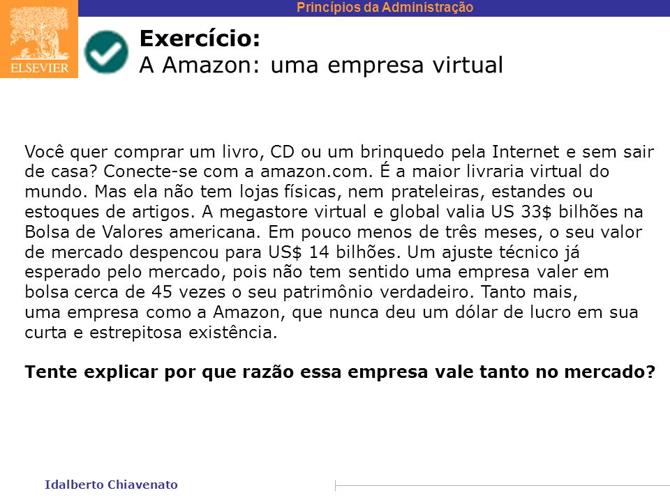 A Amazon: uma empresa virtual
