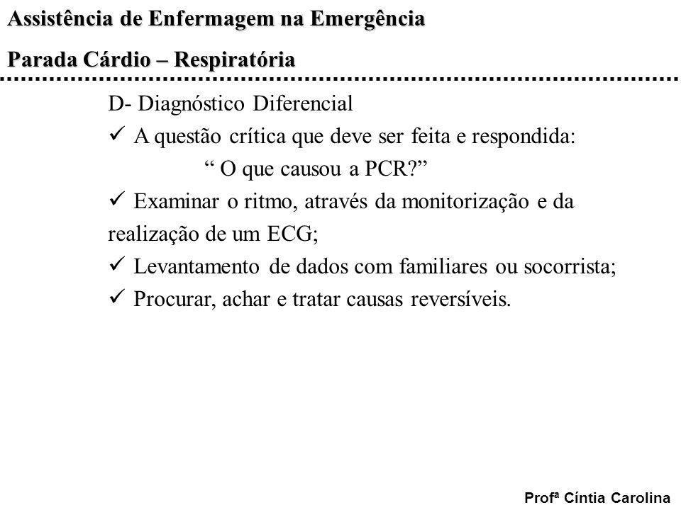 D- Diagnóstico Diferencial