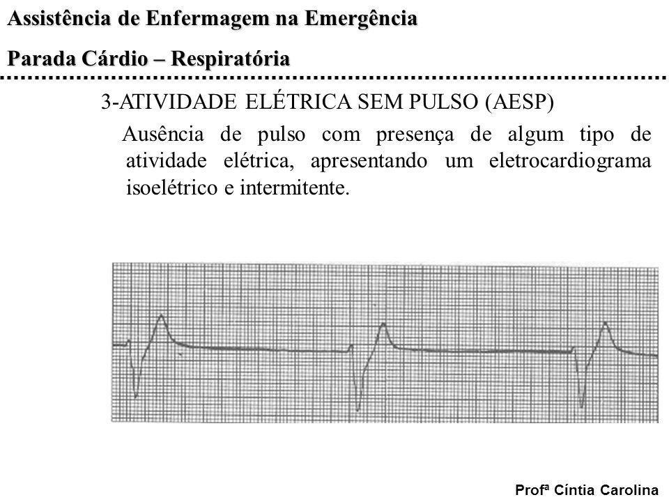 3-ATIVIDADE ELÉTRICA SEM PULSO (AESP)