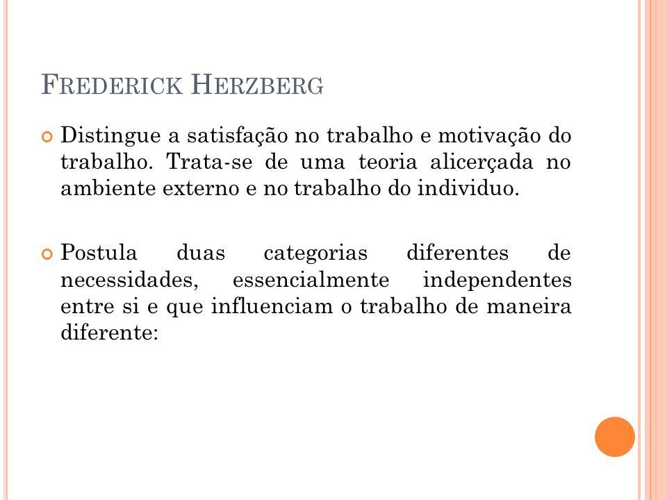 Frederick Herzberg
