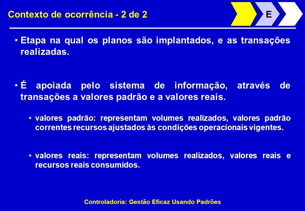 Contexto de ocorrência - 2 de 2