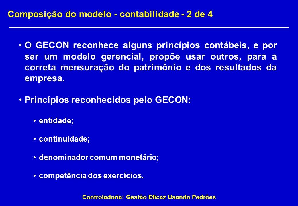 Composição do modelo - contabilidade - 2 de 4