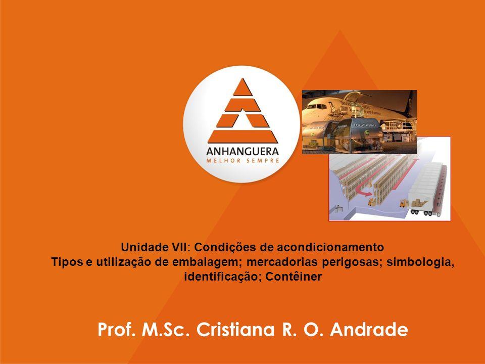 Prof. M.Sc. Cristiana R. O. Andrade