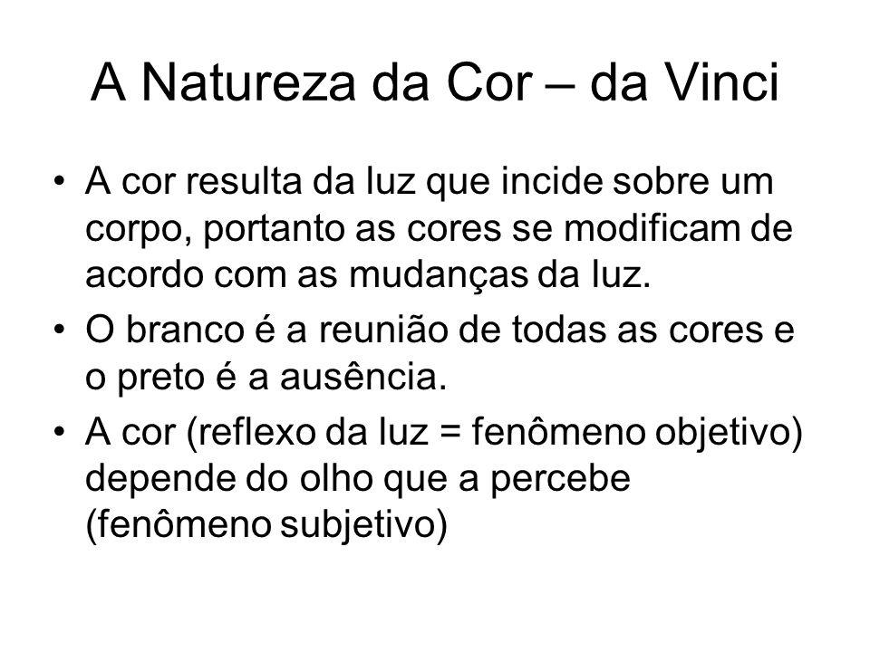 A Natureza da Cor – da Vinci