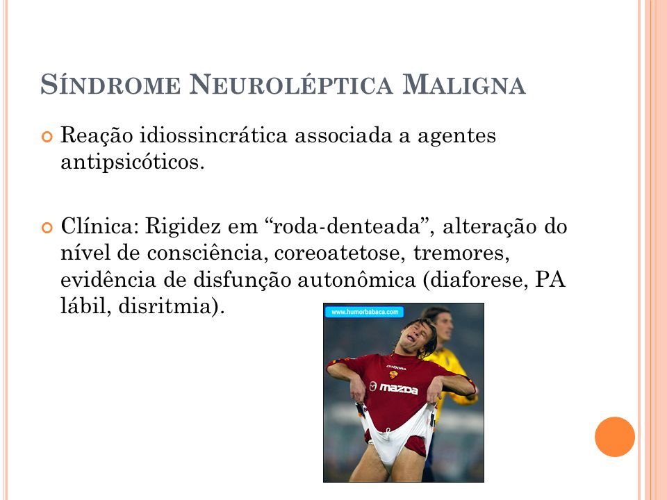 Síndrome Neuroléptica Maligna