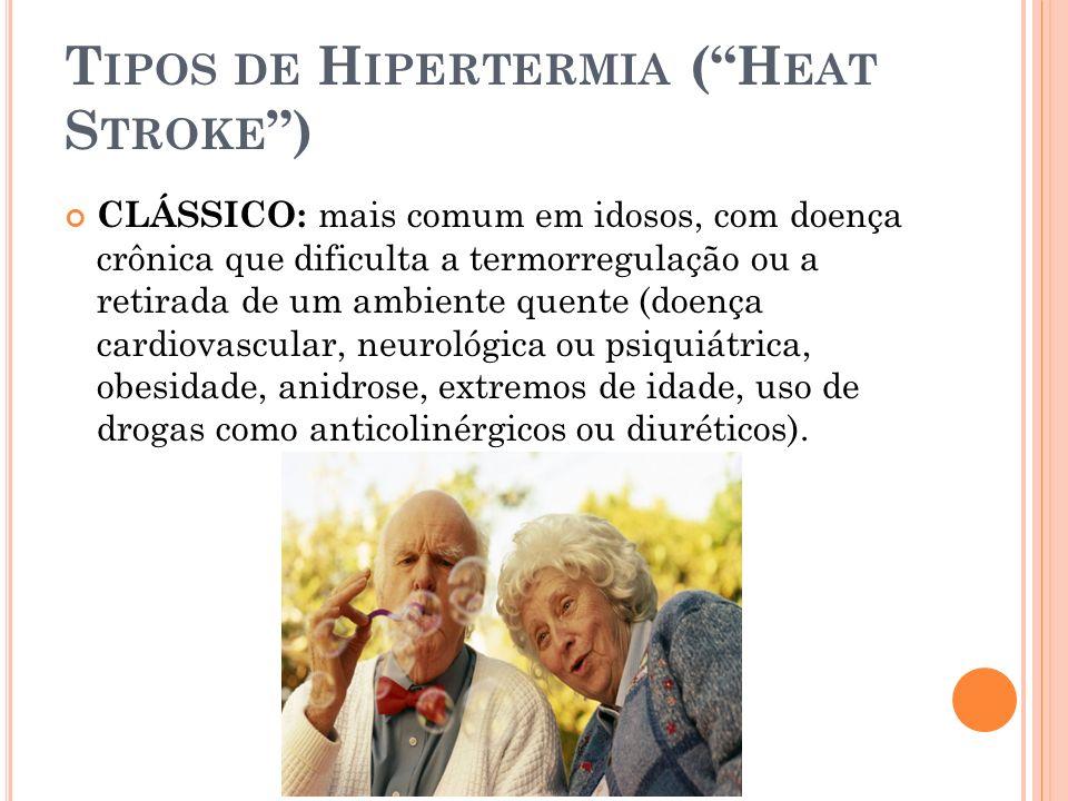 Tipos de Hipertermia ( Heat Stroke )
