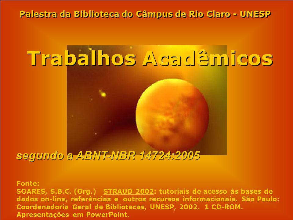 Palestra da Biblioteca do Câmpus de Rio Claro - UNESP