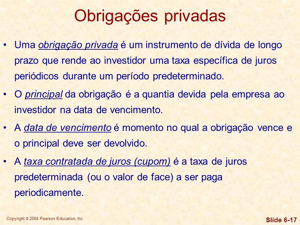 Obrigações privadas