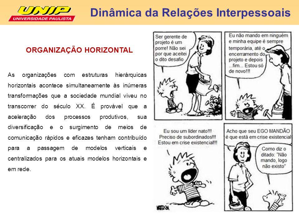 ORGANIZAÇÃO HORIZONTAL