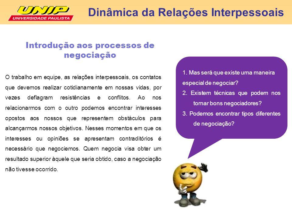 Introdução aos processos de negociação