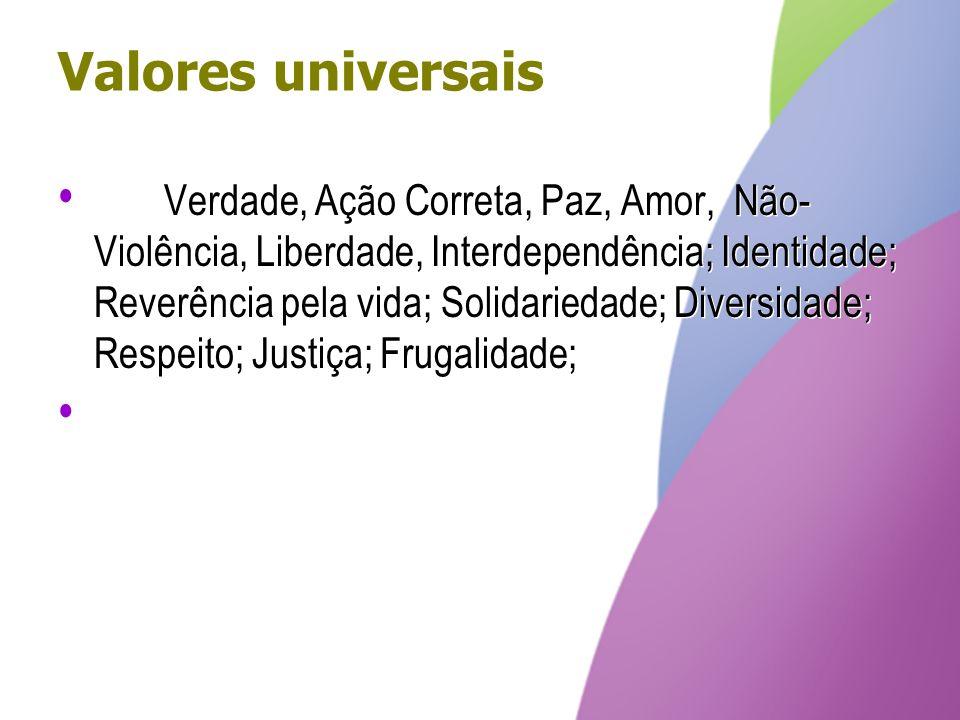 Valores universais