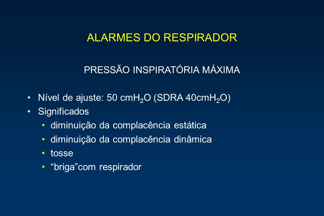 PRESSÃO INSPIRATÓRIA MÁXIMA