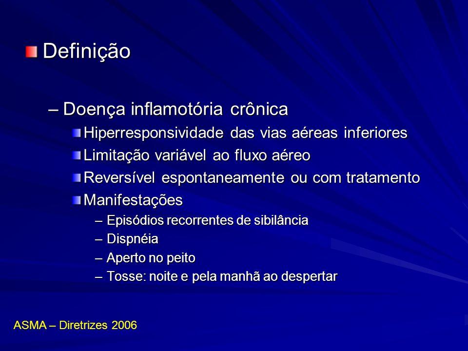 Definição Doença inflamotória crônica