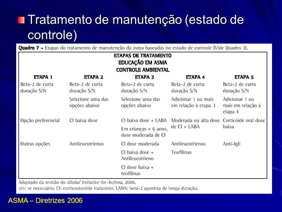 Tratamento de manutenção (estado de controle)