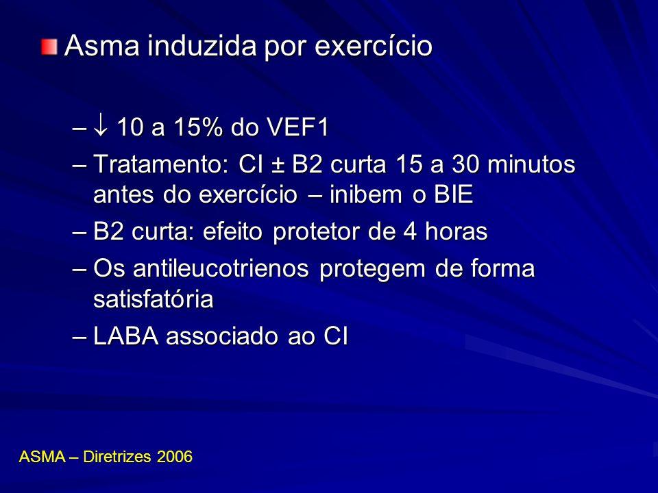 Asma induzida por exercício