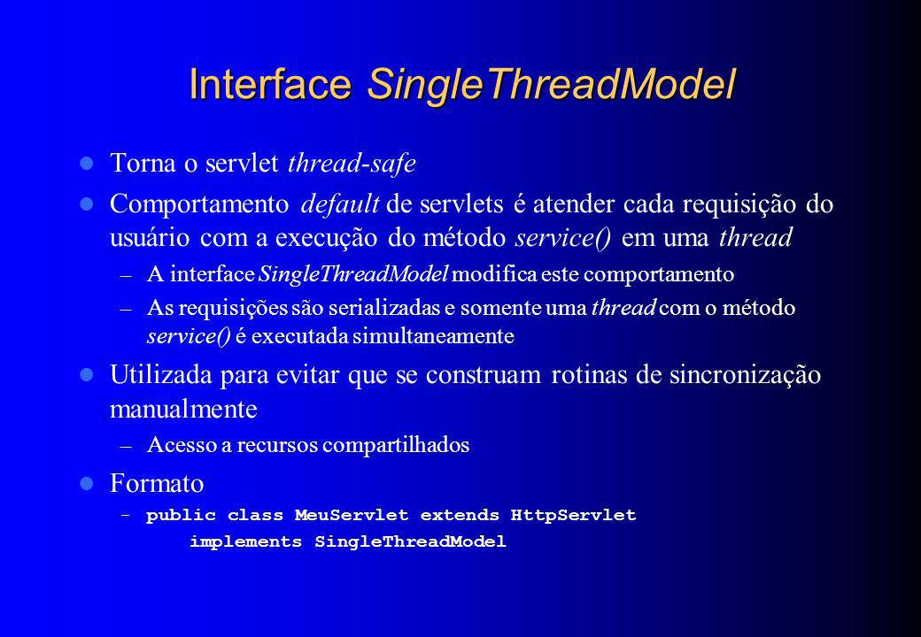 Interface SingleThreadModel
