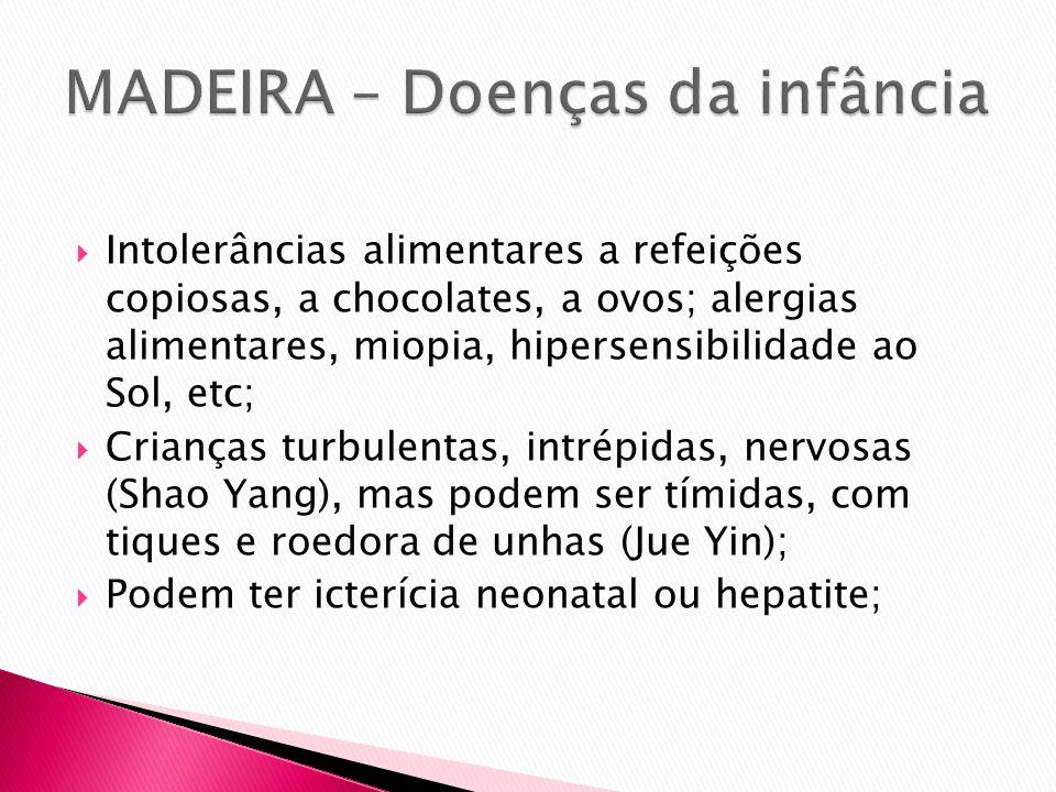 MADEIRA – Doenças da infância