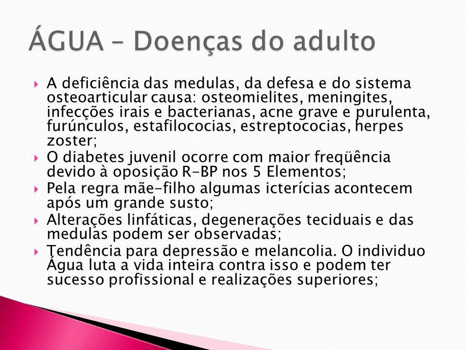 ÁGUA – Doenças do adulto