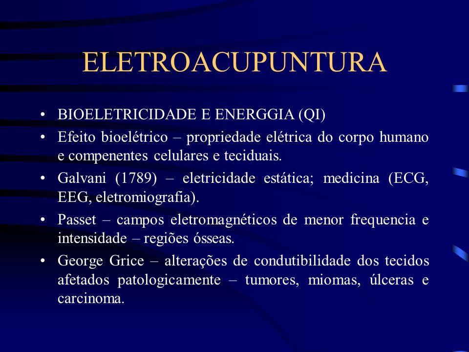 ELETROACUPUNTURA BIOELETRICIDADE E ENERGGIA (QI)