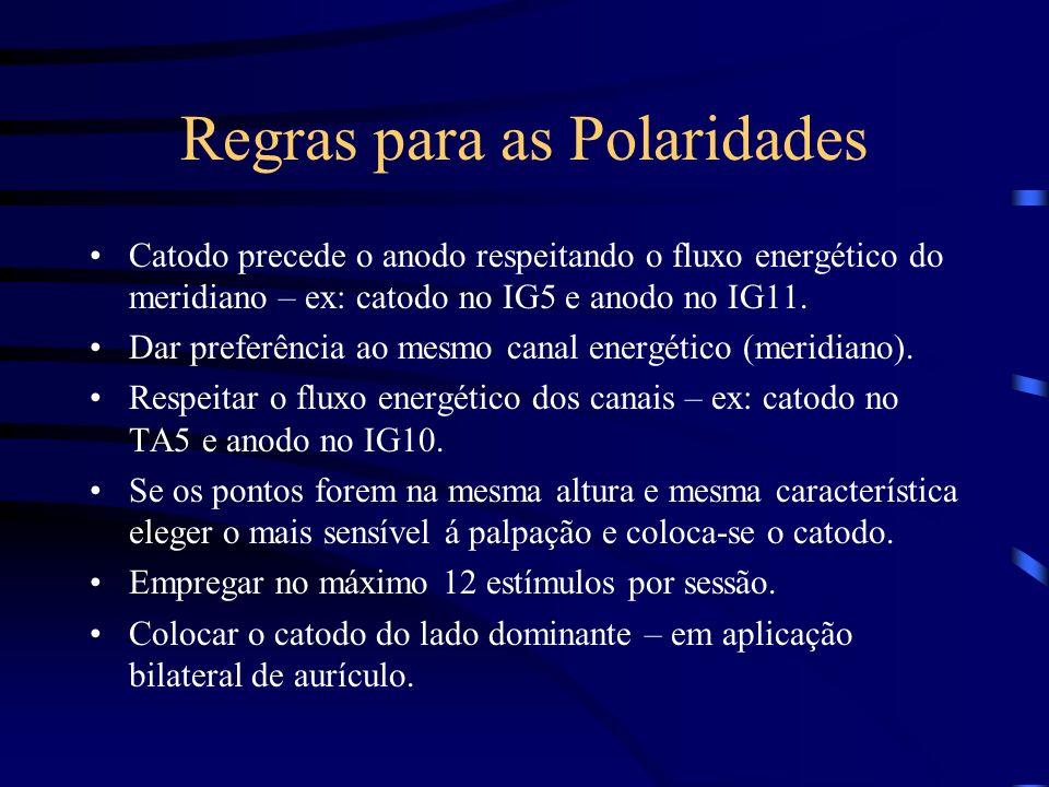 Regras para as Polaridades