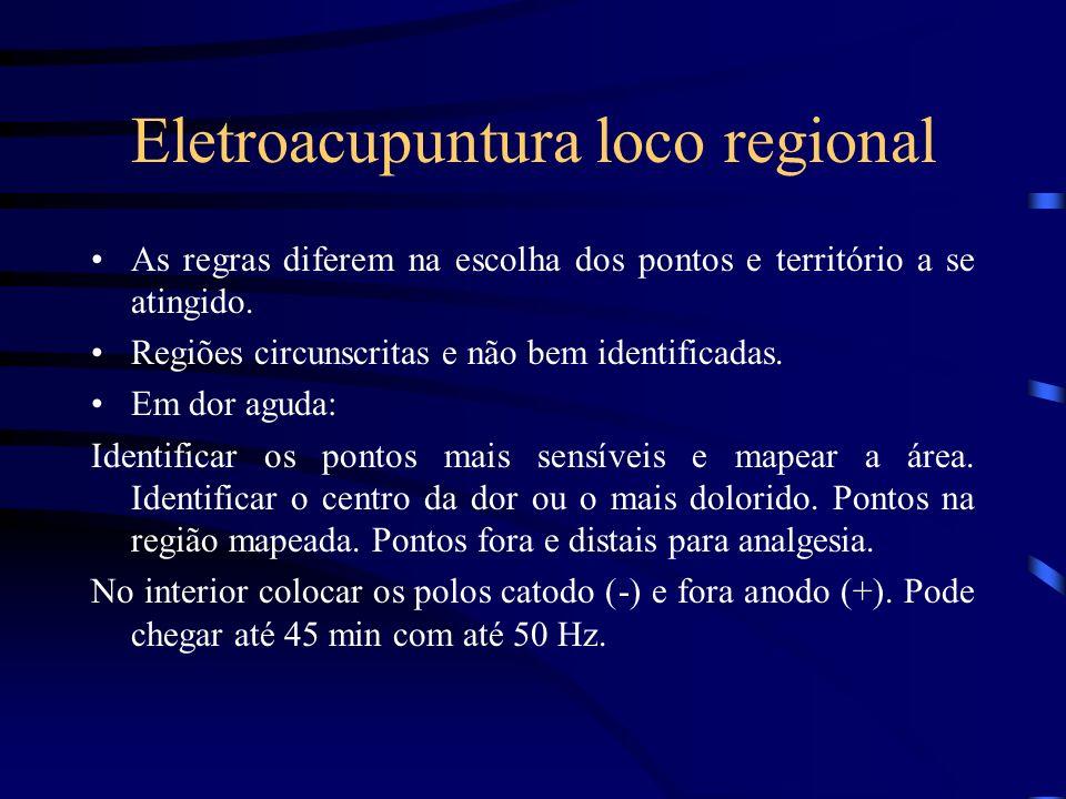 Eletroacupuntura loco regional