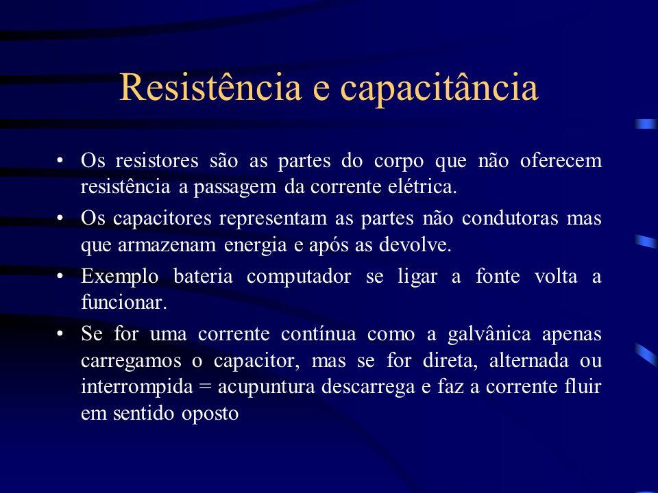 Resistência e capacitância