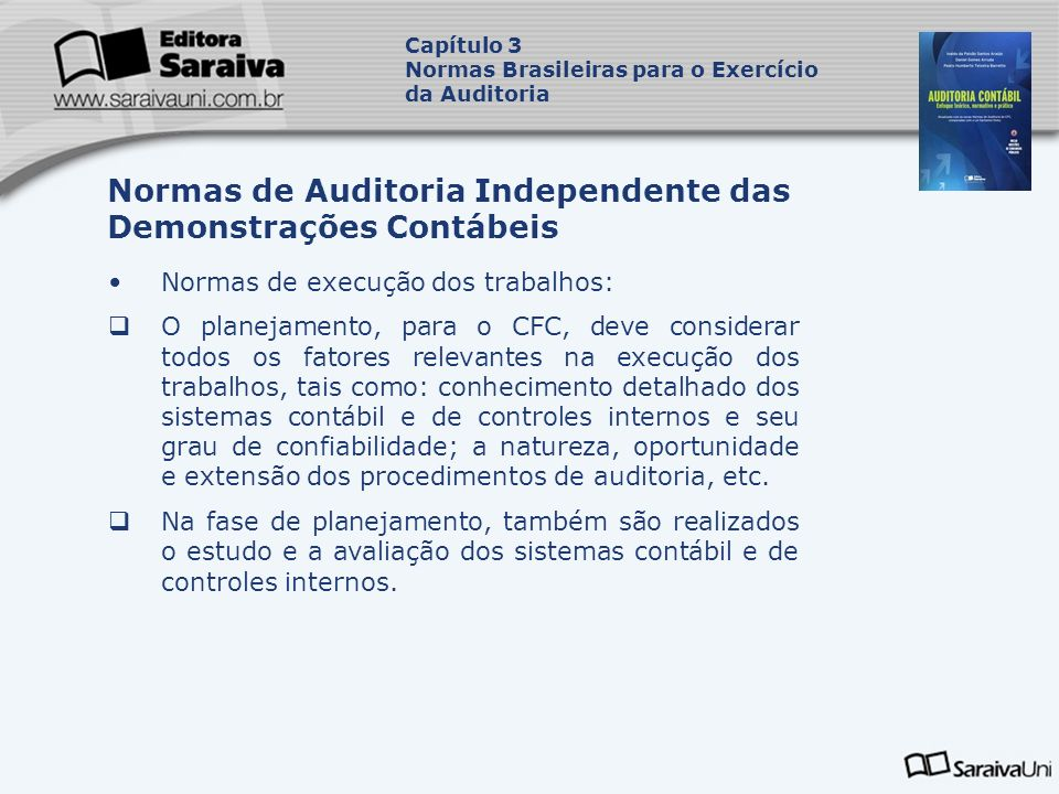 Normas de Auditoria Independente das Demonstrações Contábeis