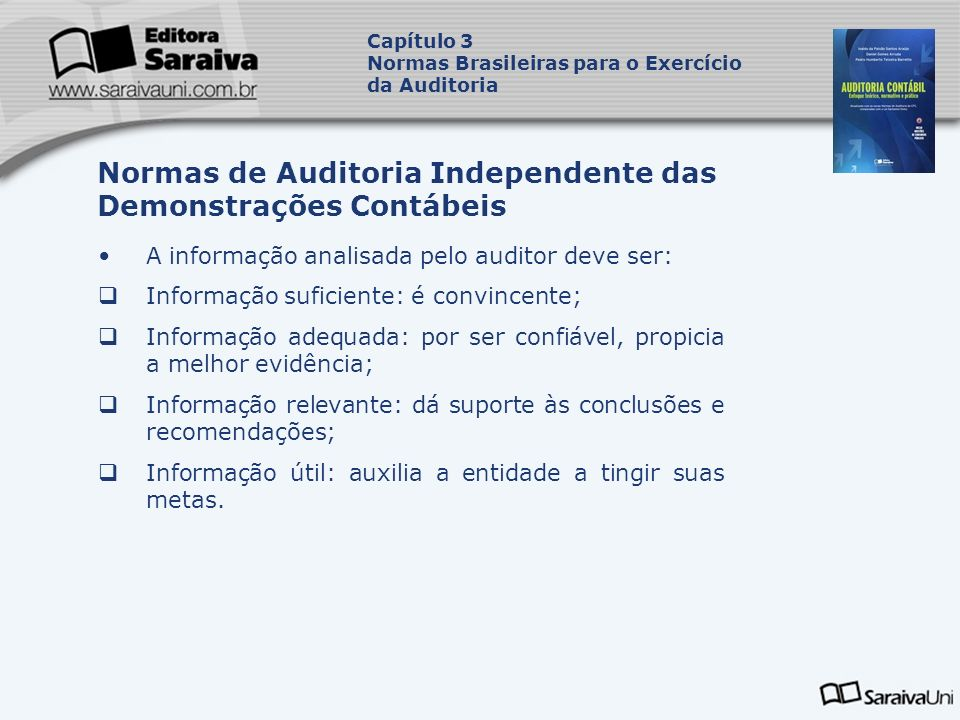 Normas de Auditoria Independente das Demonstrações Contábeis