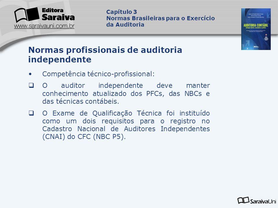 Normas profissionais de auditoria independente