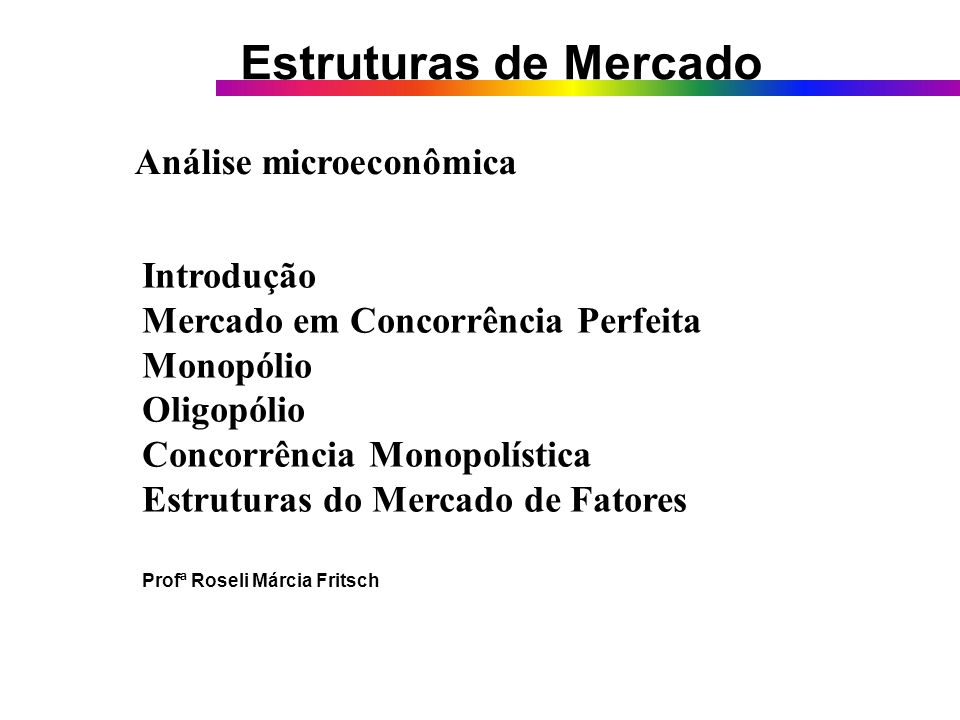 Análise Microeconômica FACCAT