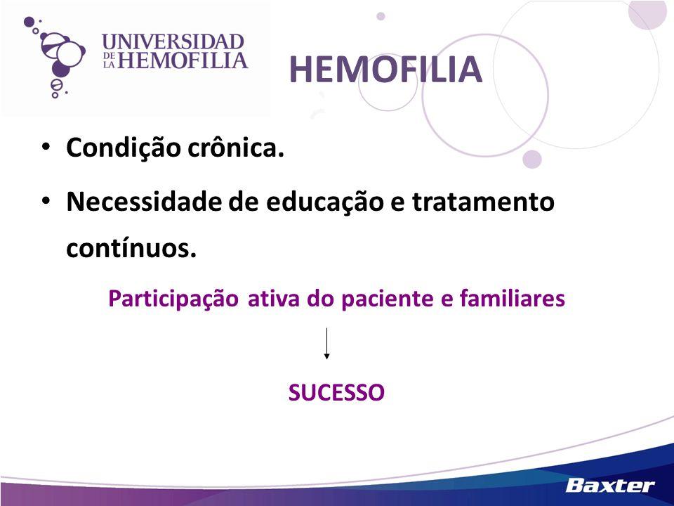 Participação ativa do paciente e familiares