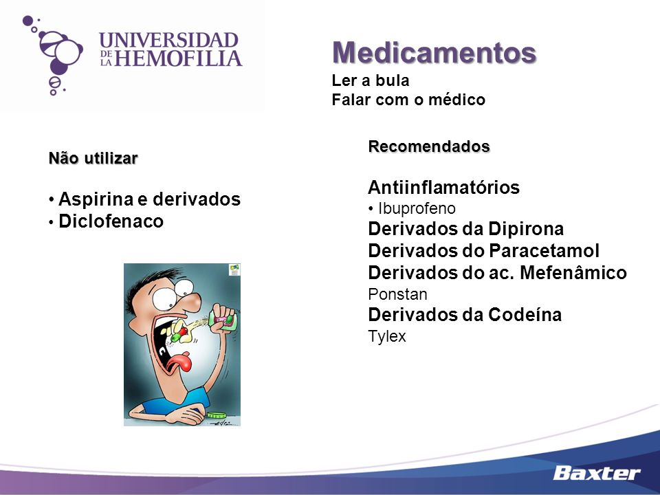 Medicamentos Antiinflamatórios Aspirina e derivados