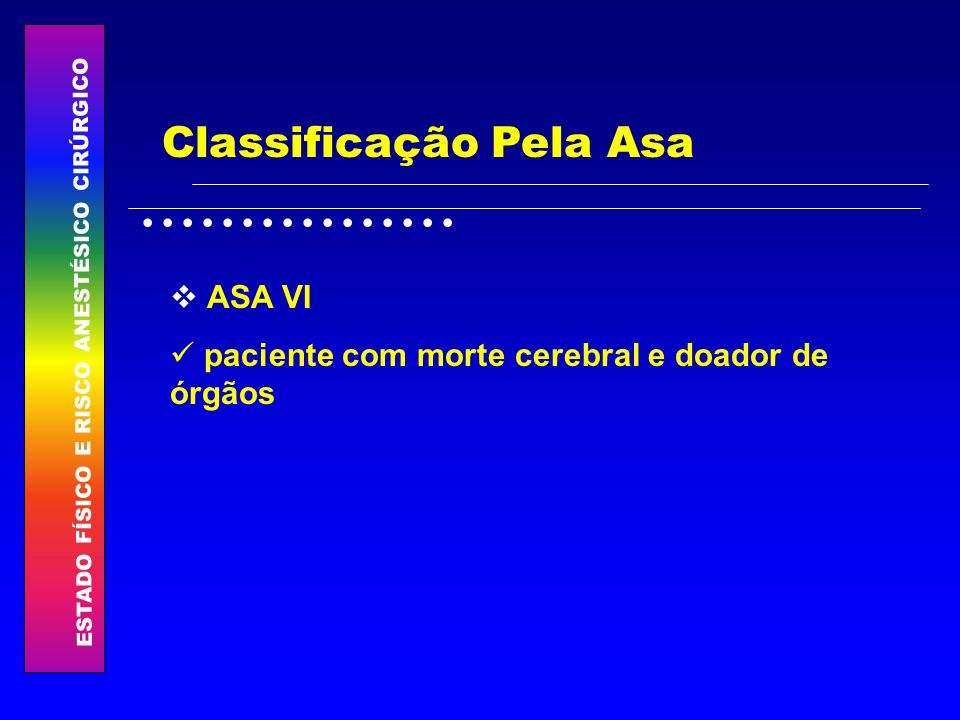 Classificação Pela Asa